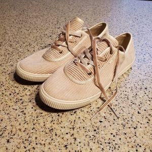 Toms SZ 6 Corduroy Sneakers